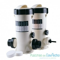 Dosificador de cloro y bromo 3,5 kg in-line