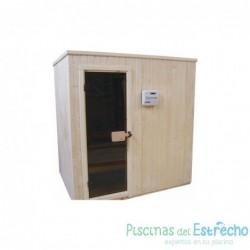 Sauna finlandesa Astralpool 2,0*2,0*2,1