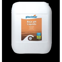 Minorador de pH PISCIMAR PM-601L en 25 litros