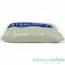 Arena silex para piscina granulometría 0,4-0,8 mm
