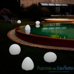 Lámpara de leds portátil ovoide